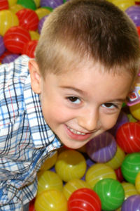 kidz plaza playground boy smiling
