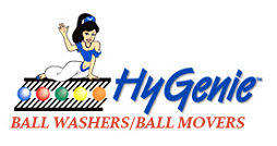 HyGenie Ball Washer Sanitized balls from ballpool